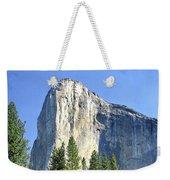 El Capitan Over The Merced River - Yosemite Valley Weekender Tote Bag