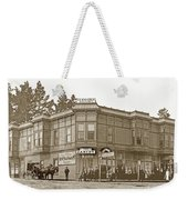 El Carmelo Bakery Lighthouse And Forest Ave. Circa 1890 Weekender Tote Bag