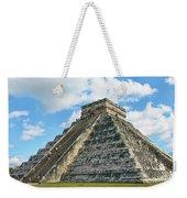 El Castillo Of Chichen Itza Weekender Tote Bag