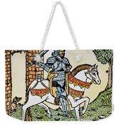 El Cid Campeador (1040?-1099) Weekender Tote Bag