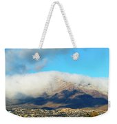 El Paso Franklin Mountains And Low Clouds Weekender Tote Bag