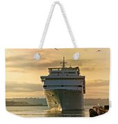 Elation - Leaving For A Cruise Weekender Tote Bag