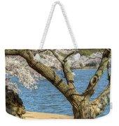 Elder Cherry Tree Weekender Tote Bag