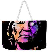 Elderly Hupa Woman Weekender Tote Bag