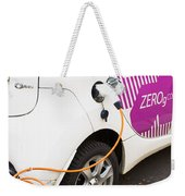 Electric Car Weekender Tote Bag
