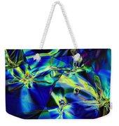 Electric Cellophane Weekender Tote Bag