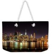 Electric City Weekender Tote Bag
