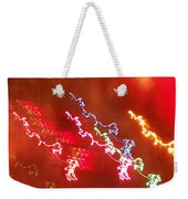 Electric Dazzle Abstract Weekender Tote Bag