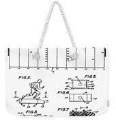 Electric Football Patent 1955 Weekender Tote Bag