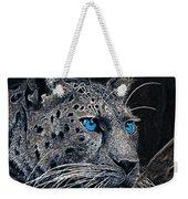 Electric Leopard Weekender Tote Bag