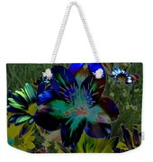 Electric Lily Weekender Tote Bag