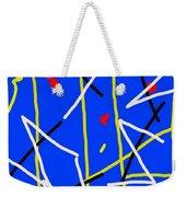 Electric Midnight Weekender Tote Bag by Paulo Guimaraes