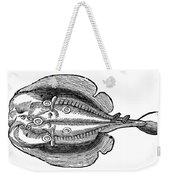 Electric Ray Weekender Tote Bag