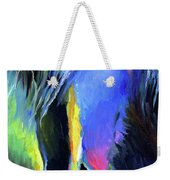 electric Stallion horse painting Weekender Tote Bag