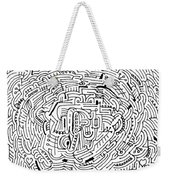 Electric Weekender Tote Bag