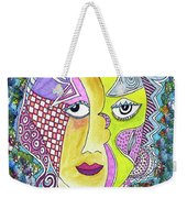 Electric Thoughts Weekender Tote Bag