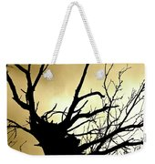 Electric Tree Black And Gold Weekender Tote Bag