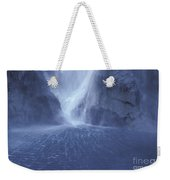 Electric Water - Milford Sound Weekender Tote Bag