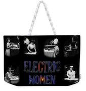 Electric Women Weekender Tote Bag