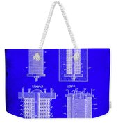 Electrical Battery Patent Drawing 1e Weekender Tote Bag