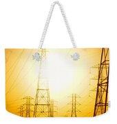 Electricity Towers Weekender Tote Bag