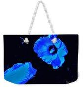 Electrifying Blue Beauty Weekender Tote Bag