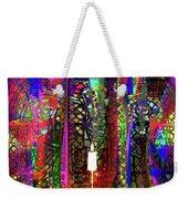 Electromagnetic Light Weekender Tote Bag by Joseph Mosley