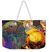 Electromagnetic Lighthouse Thirdeye Portal Weekender Tote Bag by Joseph Mosley