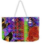 Electromagnetic  Weekender Tote Bag by Joseph Mosley