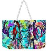 Elefante Weekender Tote Bag