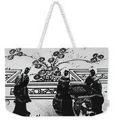 Elegance Unfolding Weekender Tote Bag