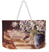 Elegant Dining At Hearst Castle Weekender Tote Bag