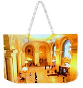 Elegant Entrance Weekender Tote Bag
