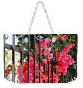 Elegant Fence Weekender Tote Bag