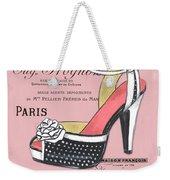 Elegant French Shoes 2 Weekender Tote Bag
