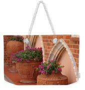 Elegant Italian Florals Weekender Tote Bag