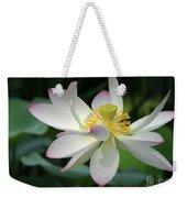Elegant Lotus Weekender Tote Bag