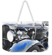 Elegant Vintage Weekender Tote Bag