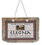 Eleona Weekender Tote Bag
