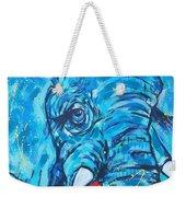 Elephant #3 Weekender Tote Bag