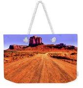 Elephant Butte Monument Valley Navajo Tribal Park Weekender Tote Bag