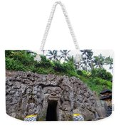 Elephant Cave Temple Weekender Tote Bag
