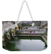 Elephant Cave Temple Fountain Weekender Tote Bag