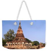 Elephant Chedi Historical Place Weekender Tote Bag