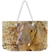 Elephant Color Splash Weekender Tote Bag