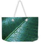 Elephant Ear Leaf Weekender Tote Bag