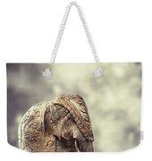 Elephant Figure Weekender Tote Bag