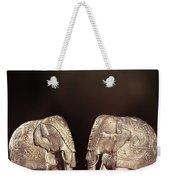 Elephant Figures Weekender Tote Bag