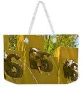 Elephant Fountain One Weekender Tote Bag