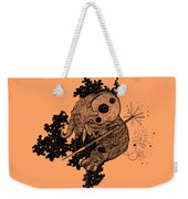 Elephant In Outer Space Weekender Tote Bag